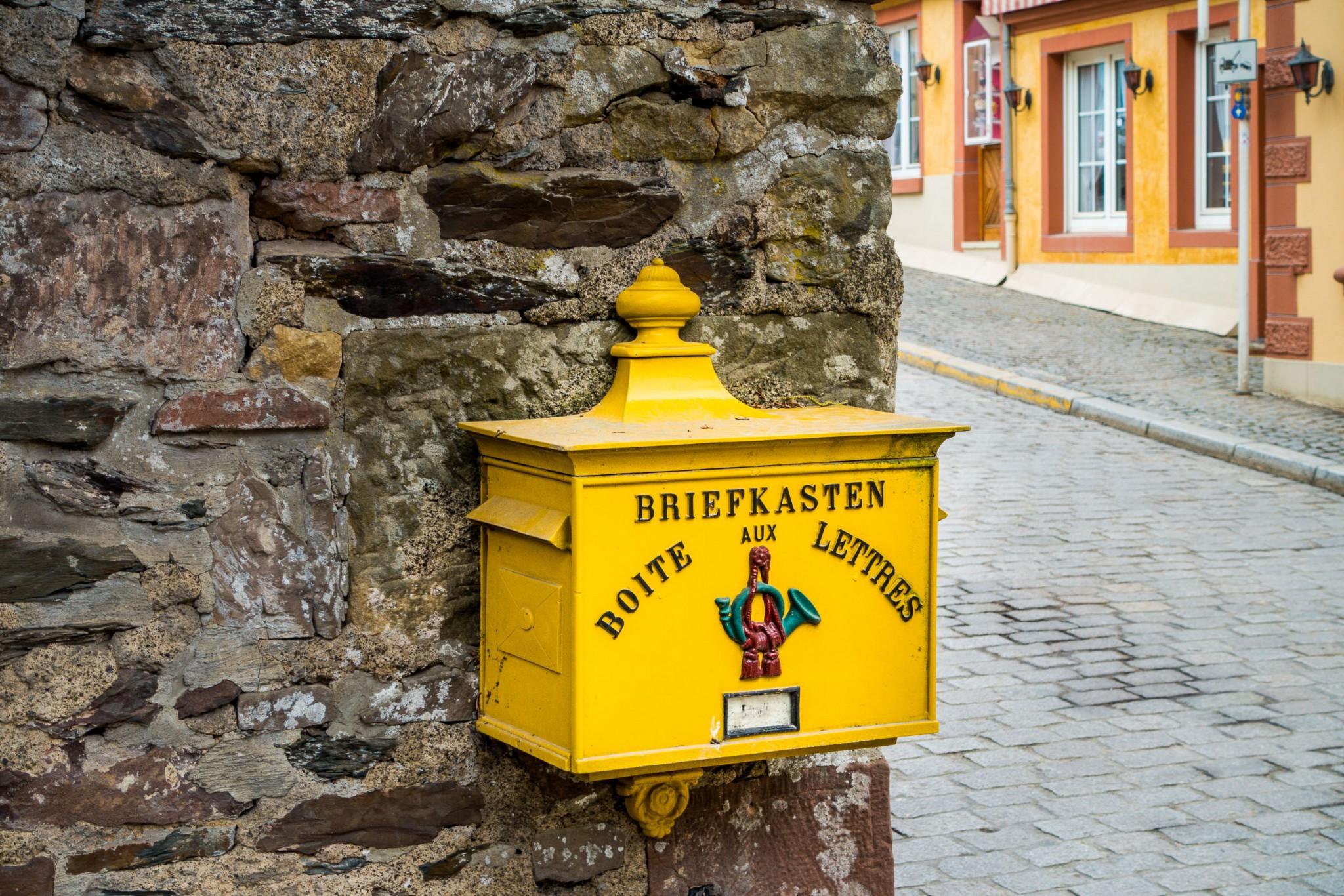 Ein Briefkasten aus einer längst vergessen Welt