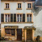 Verlassene Häuser in Vianden