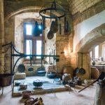 Mittelalterliche Küche - Burg Vianden