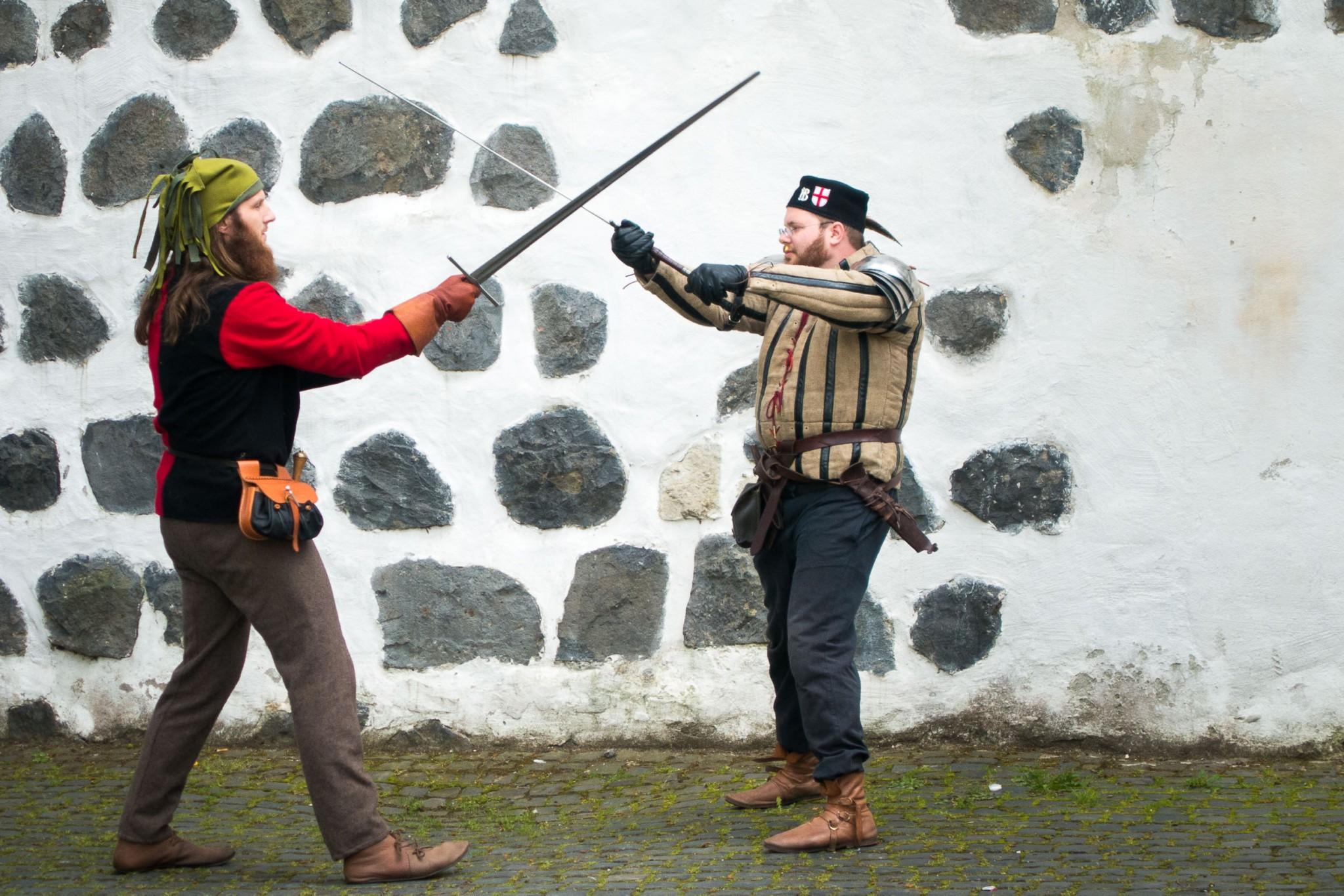 Auch ein spannender Ritterkampf war zu sehen