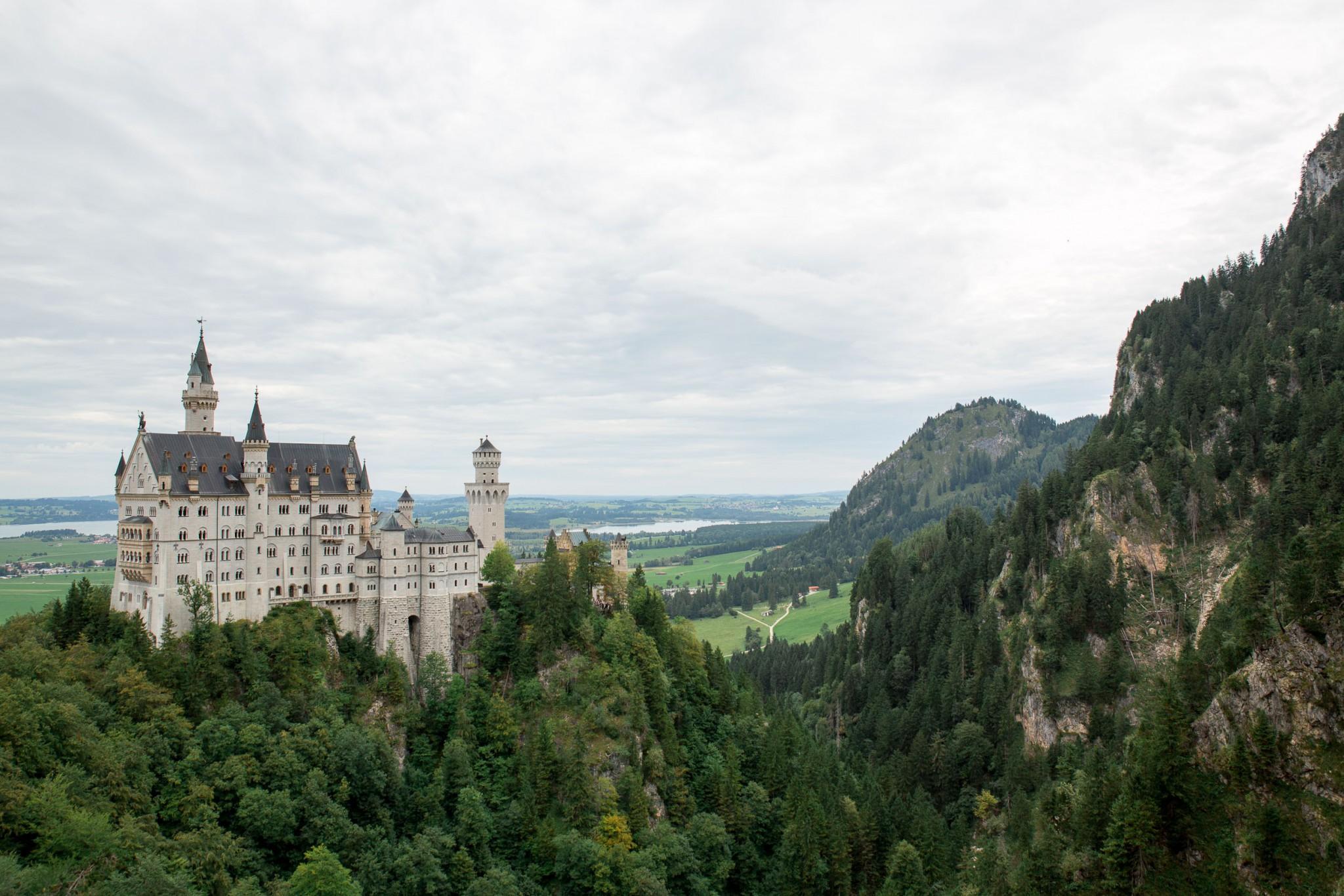Schloss Neuschwanstein - Eins der schönsten Schlösser dieser Welt