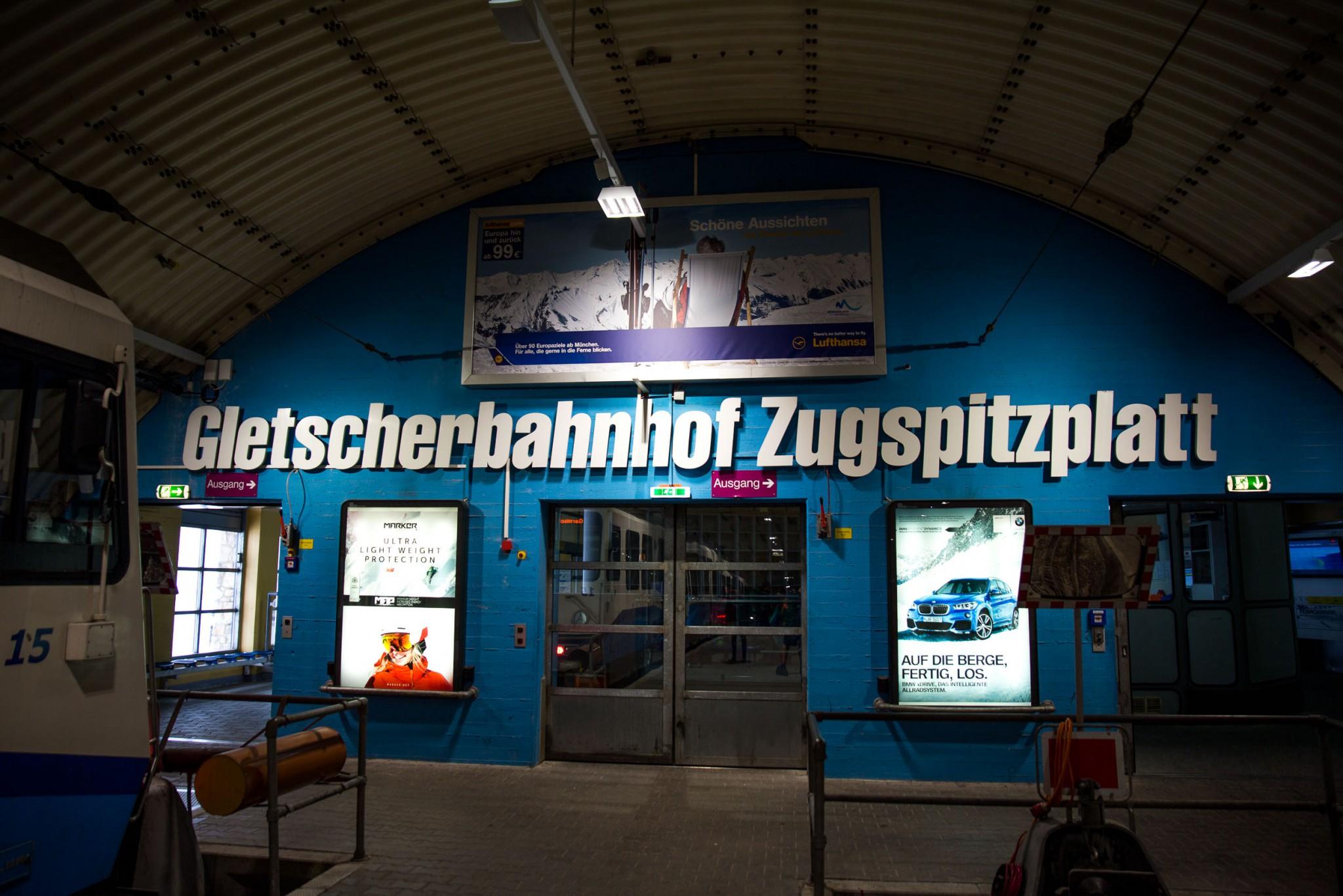 Gletscherbahnhof Zugspitze