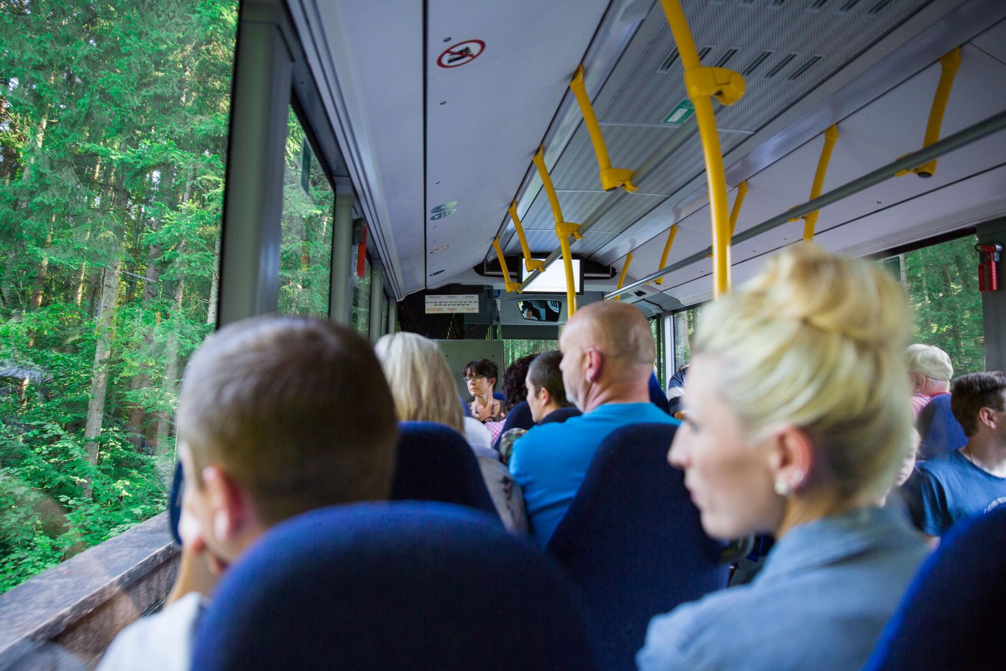 Mit dem Bus zum hinauf zum Kehlsteinhaus