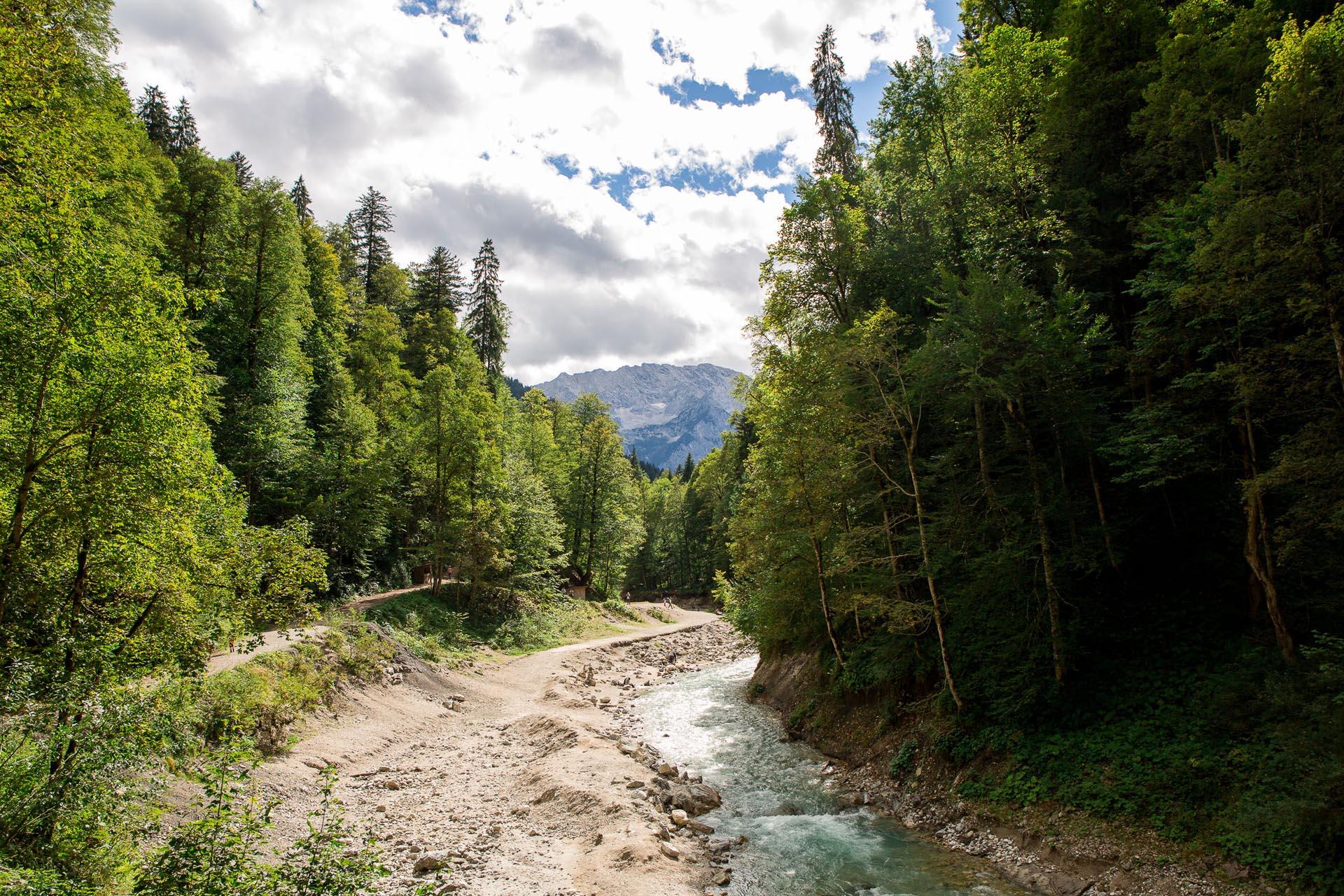 Die Partnachklamm - Garmisch-Partenkirchen: Das Ende