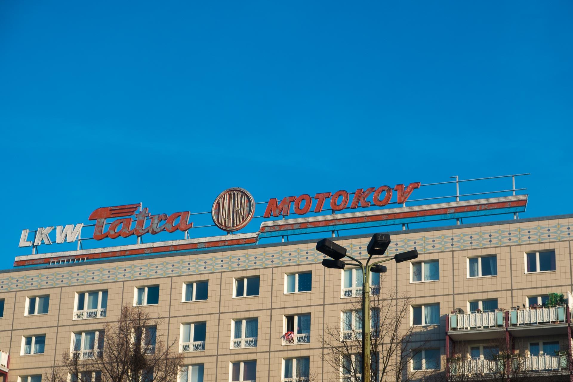 Russisch angehauchte Firma