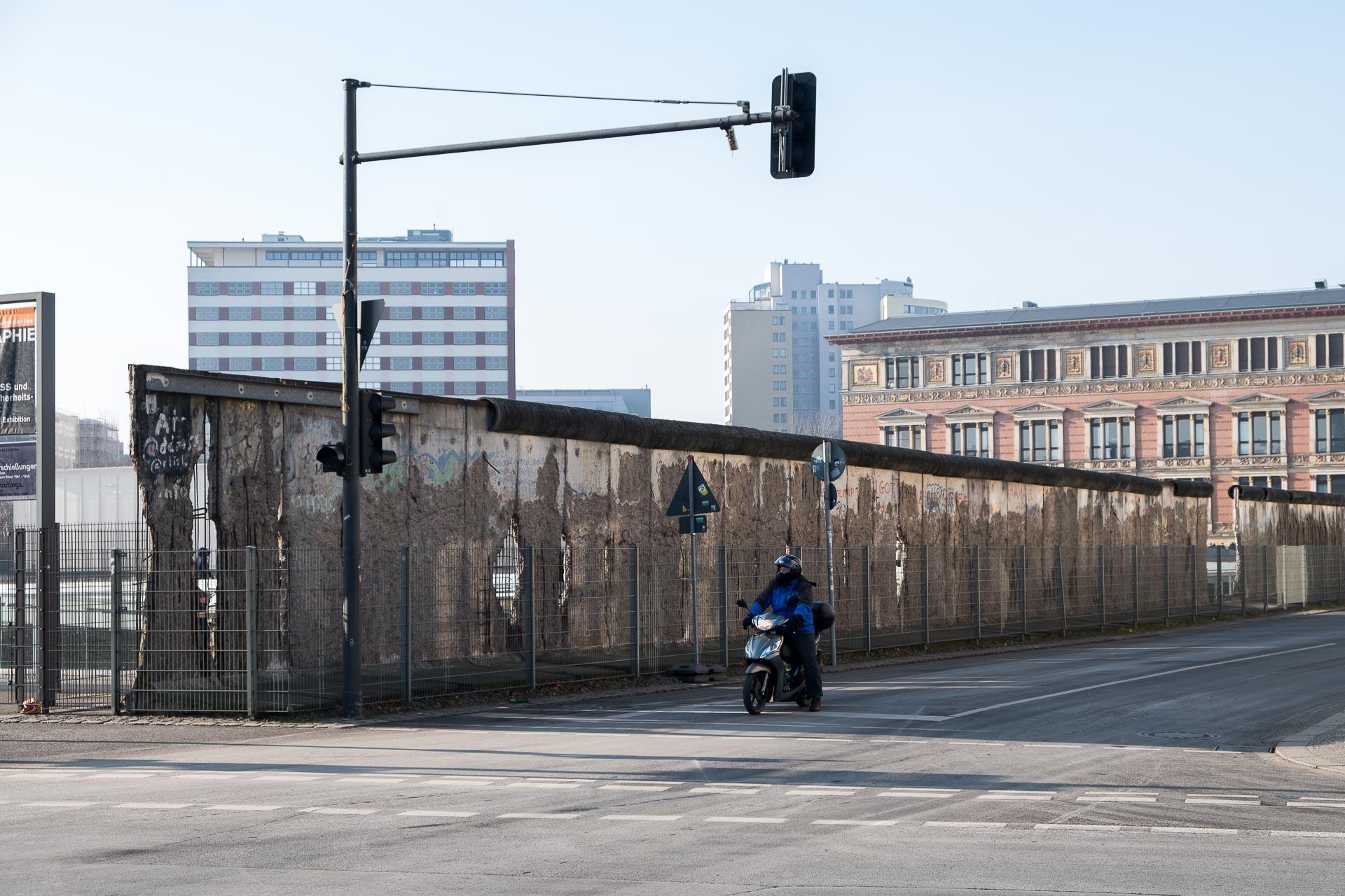 Ein Stück DDR Mauer