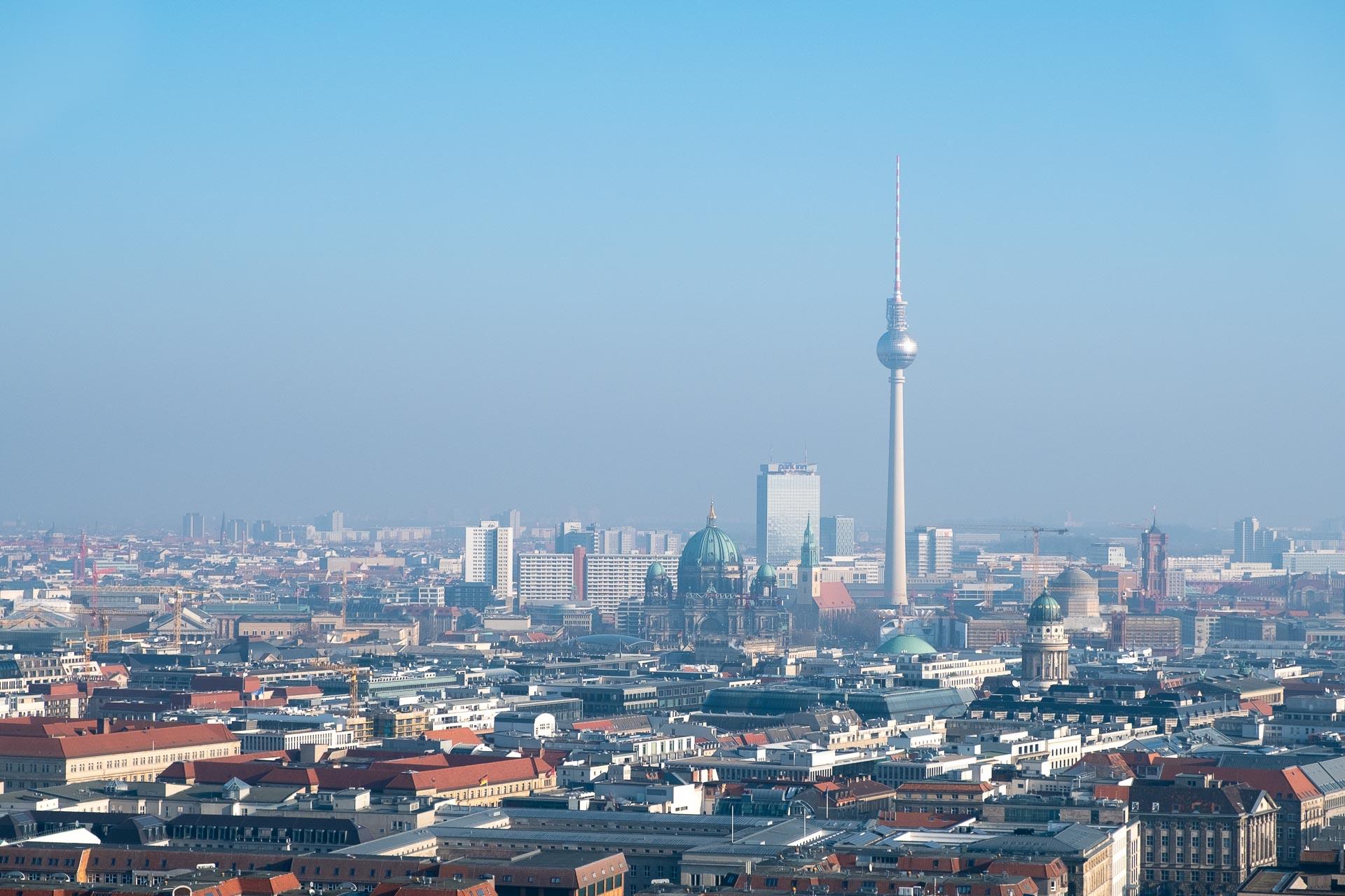 Skyline mit Fernsehturm von Berlin