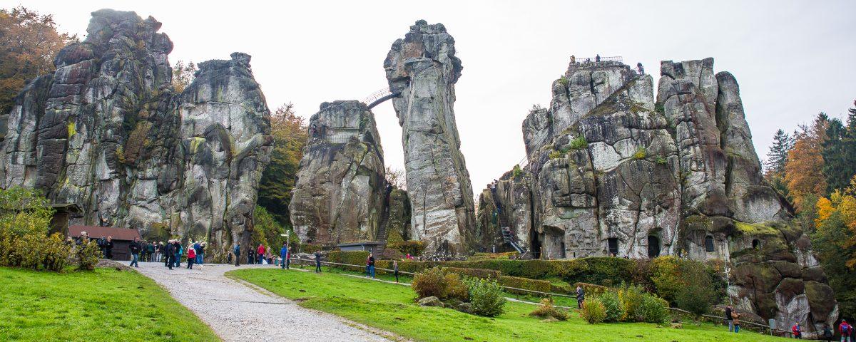 Externsteine - Teutoburger Wald