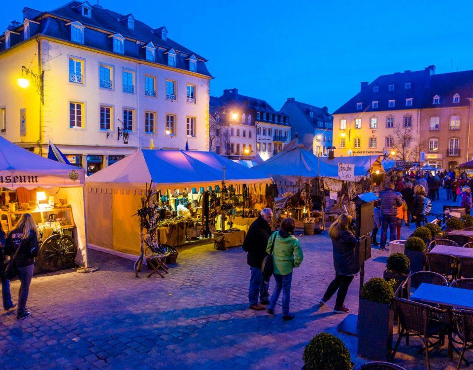 Mittelaltermarkt Echternach - Ostermarkt in Luxemburg