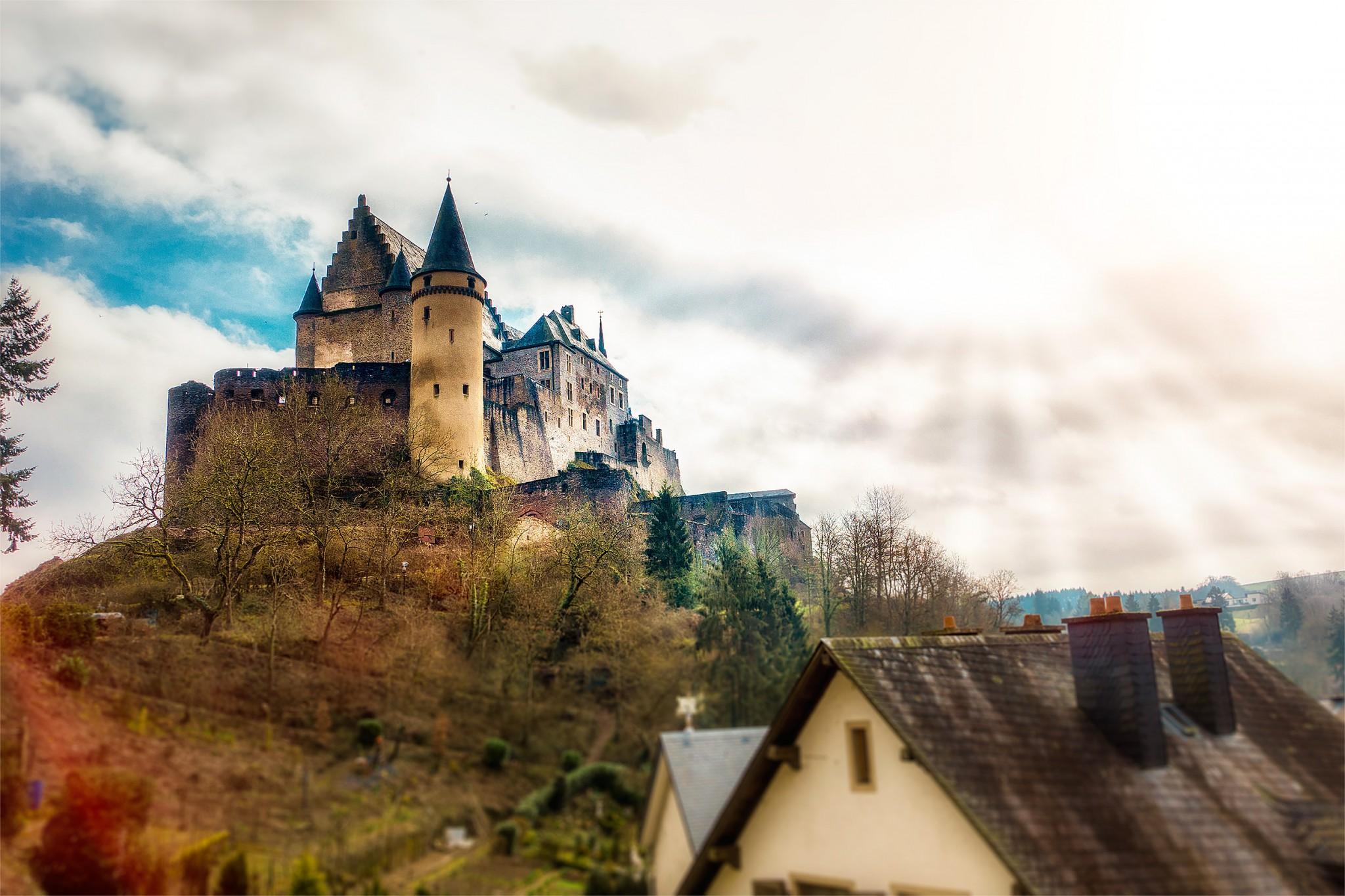 Burg Vianden - Château de Vianden