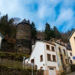 Burgmauer um die Altstadt Vianden