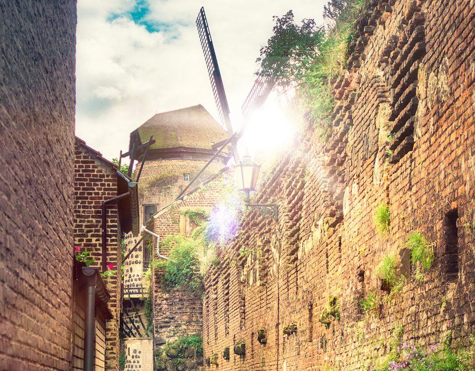 Zons am Rhein - Ein kleines Stück Mittelalter