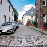 Eine Straße Anno 1985