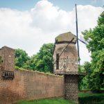 Mühle von Zons am Rhein
