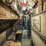 Das ganze U-Boot ist sehr eng
