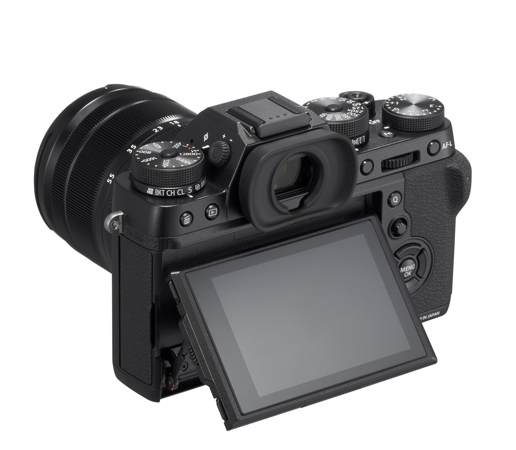FUJIFILM X-T2 mit schwenkbaren Display