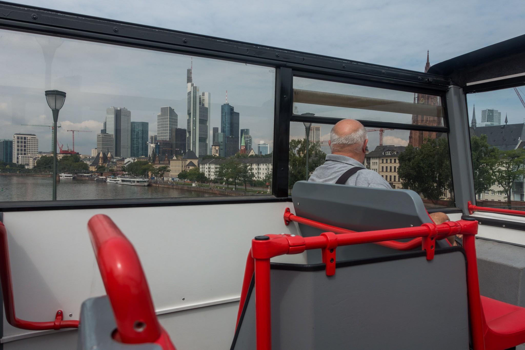 Busrundfahrt mit dem Hop on Hop off Bus
