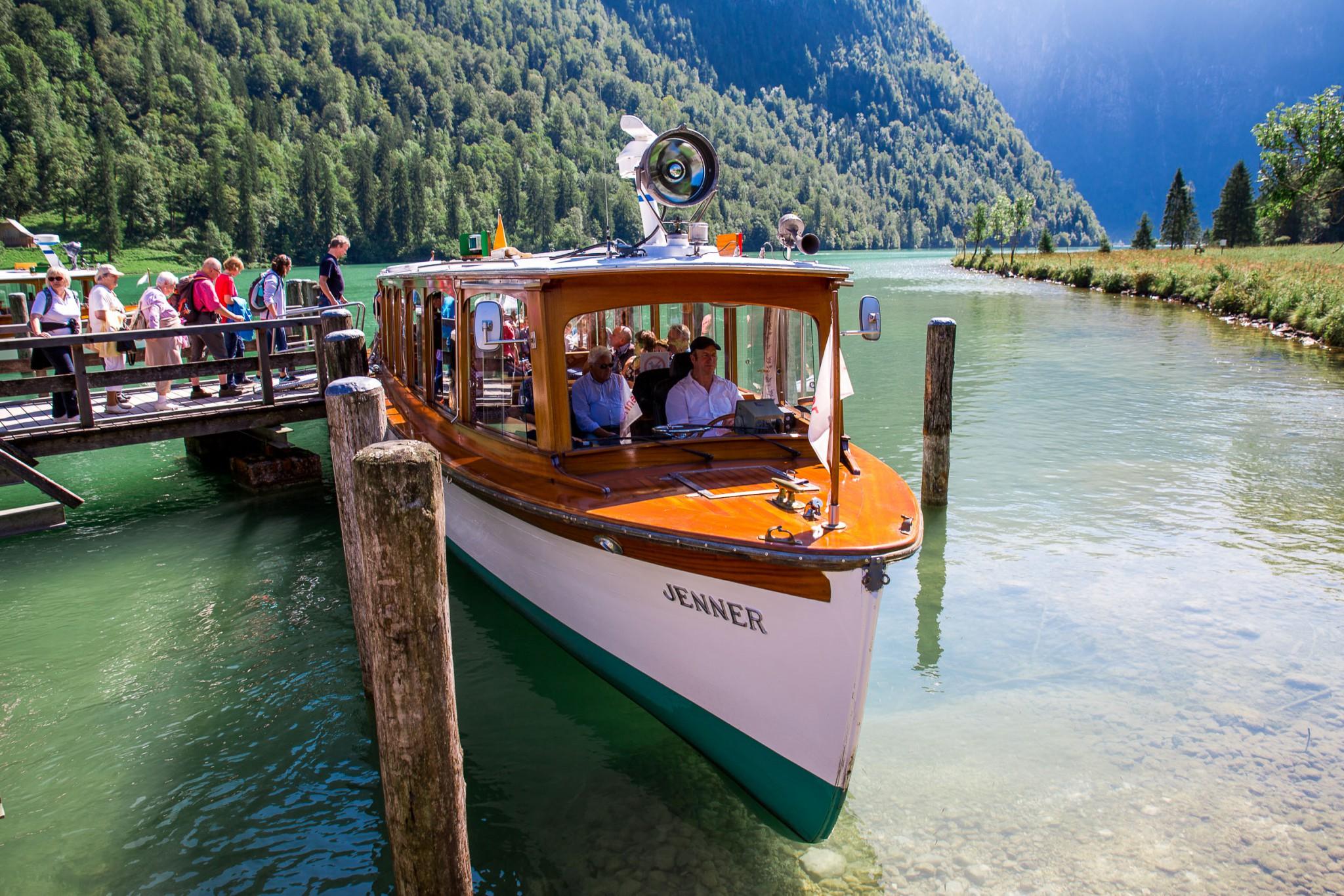 Bootsfahrt Königssee