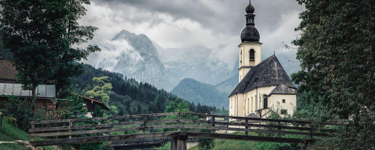 St. Sebastian Kirche - Ramsau Berchtesgaden, Bayern