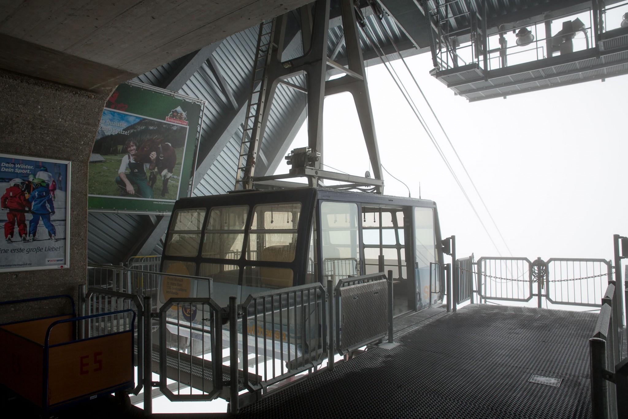 Gletscherbahn - Gondel
