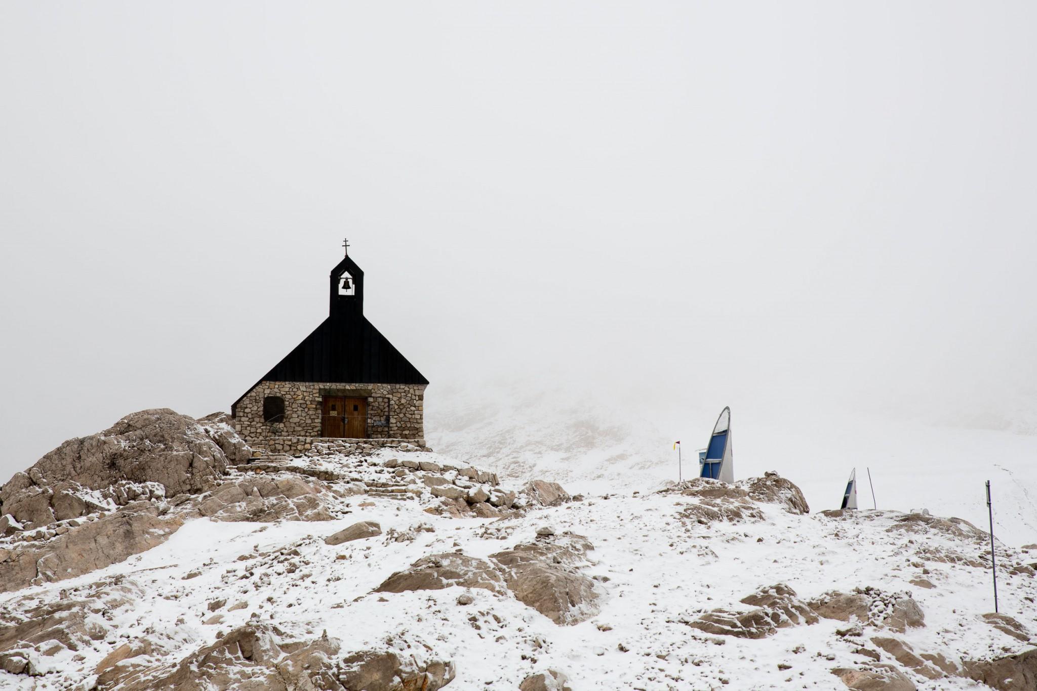 Kapelle auf der Zugspitze