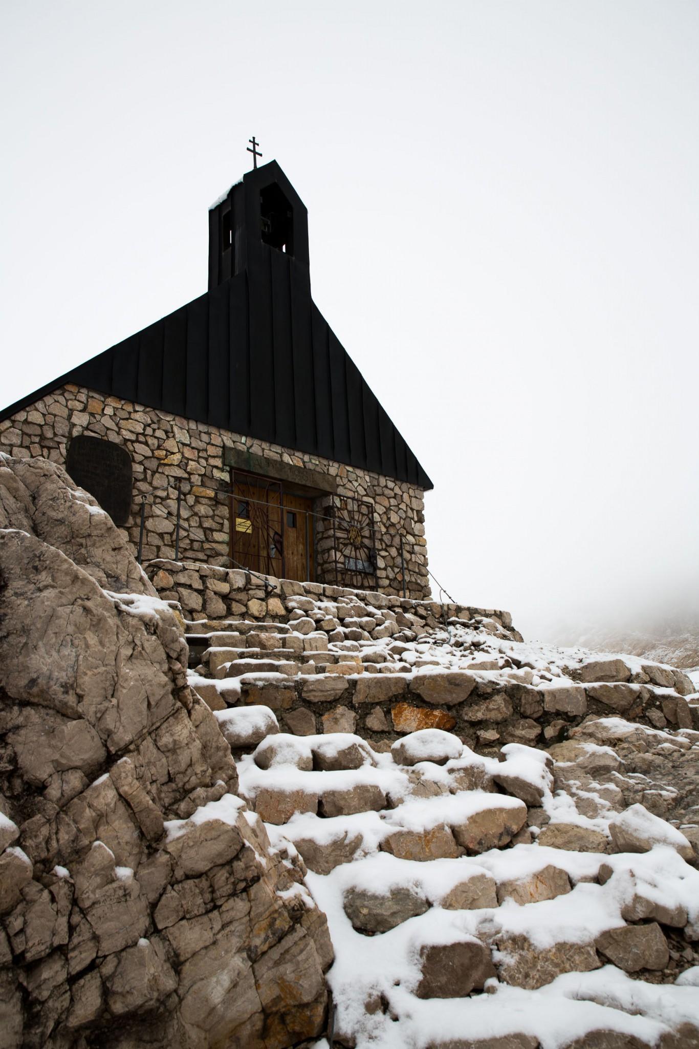 Ein Besuch in der Kapelle