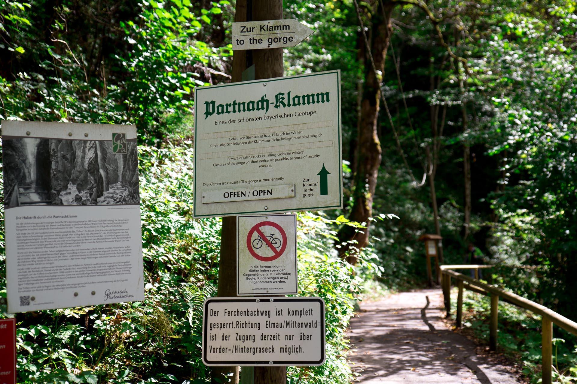 Die Partnachklamm - Garmisch-Partenkirchen
