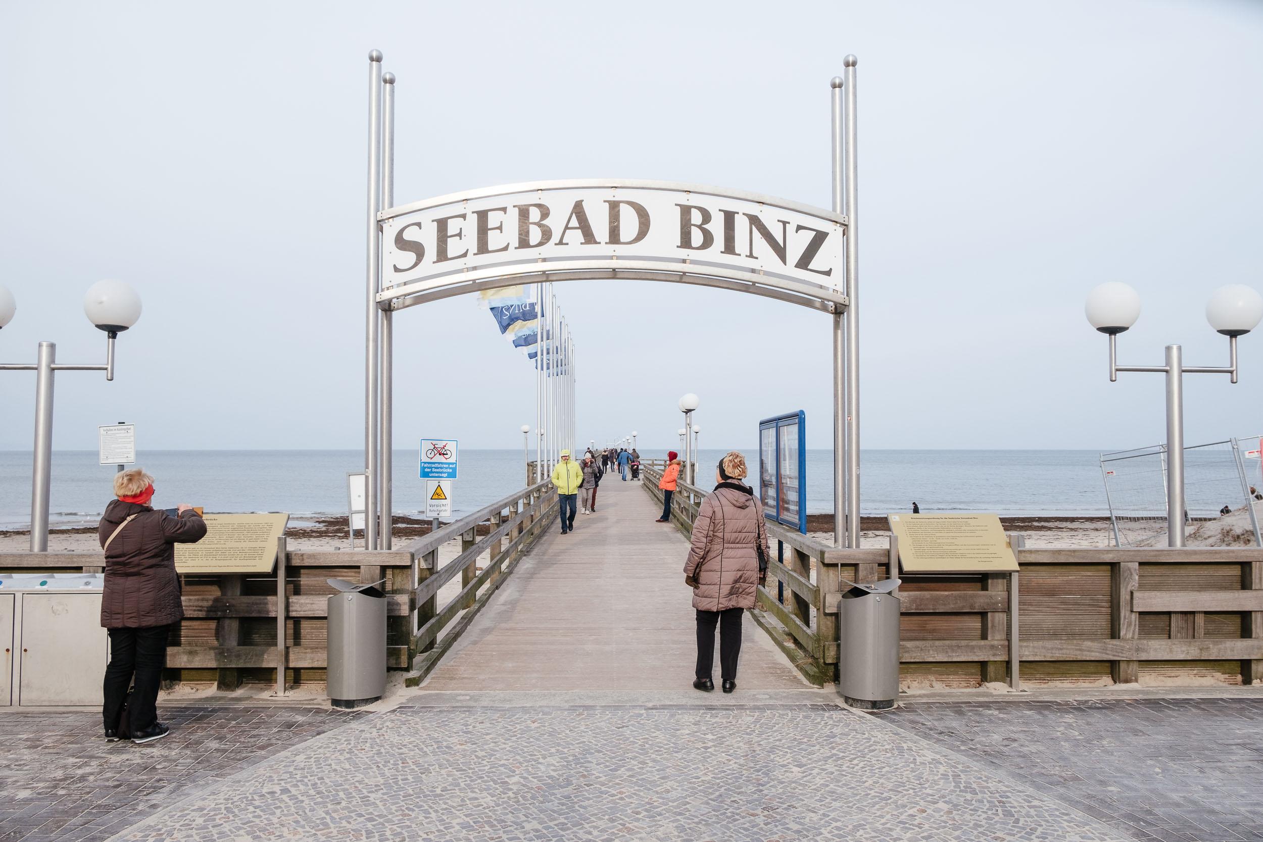 Seebrücke Ostseebad Binz