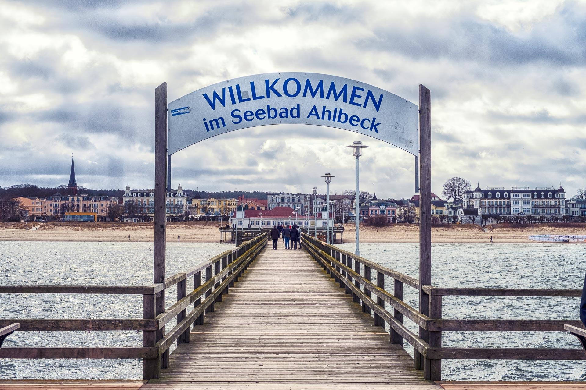 Seebrücke Ahlbeck, Usedom